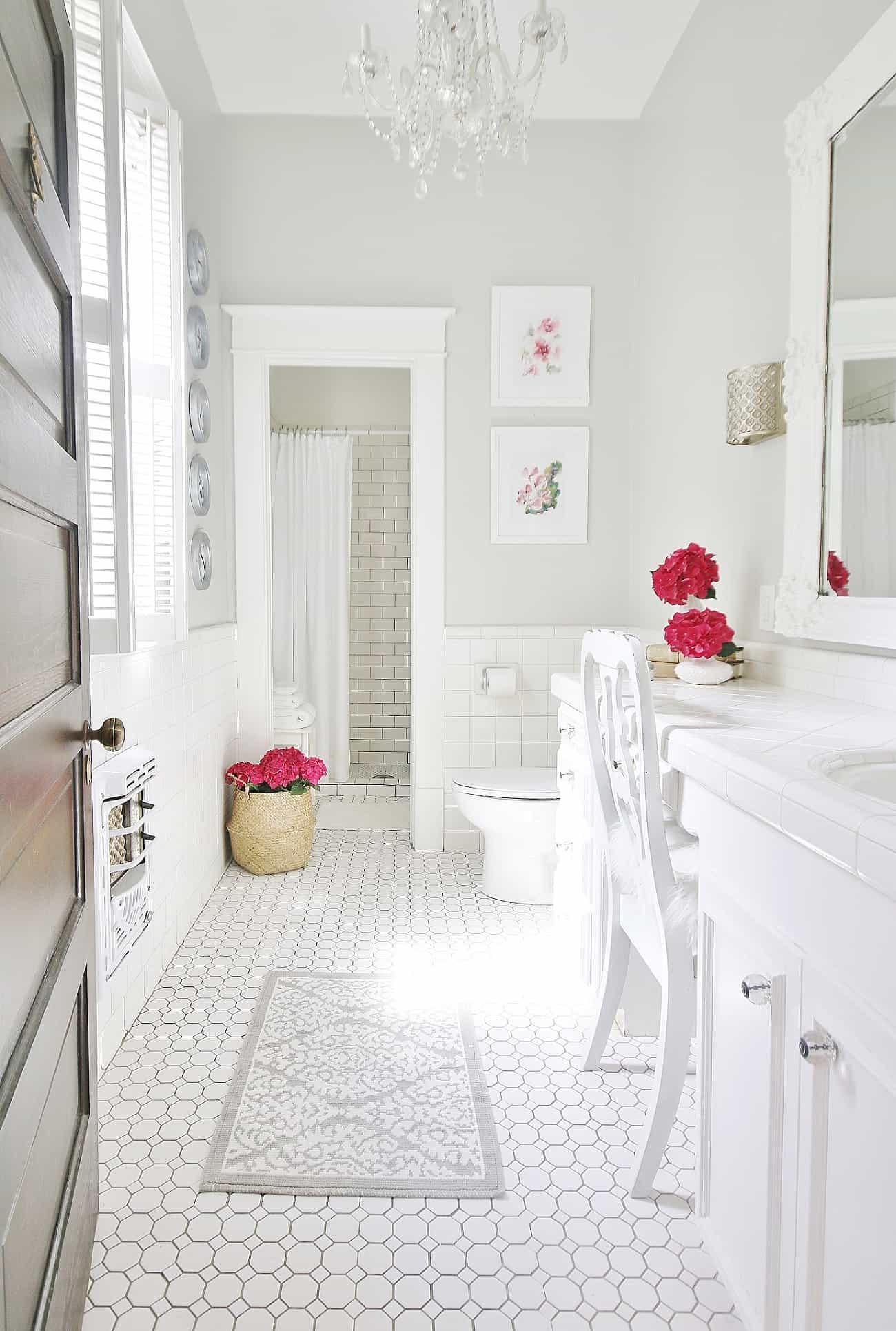 summer bathroom refresh
