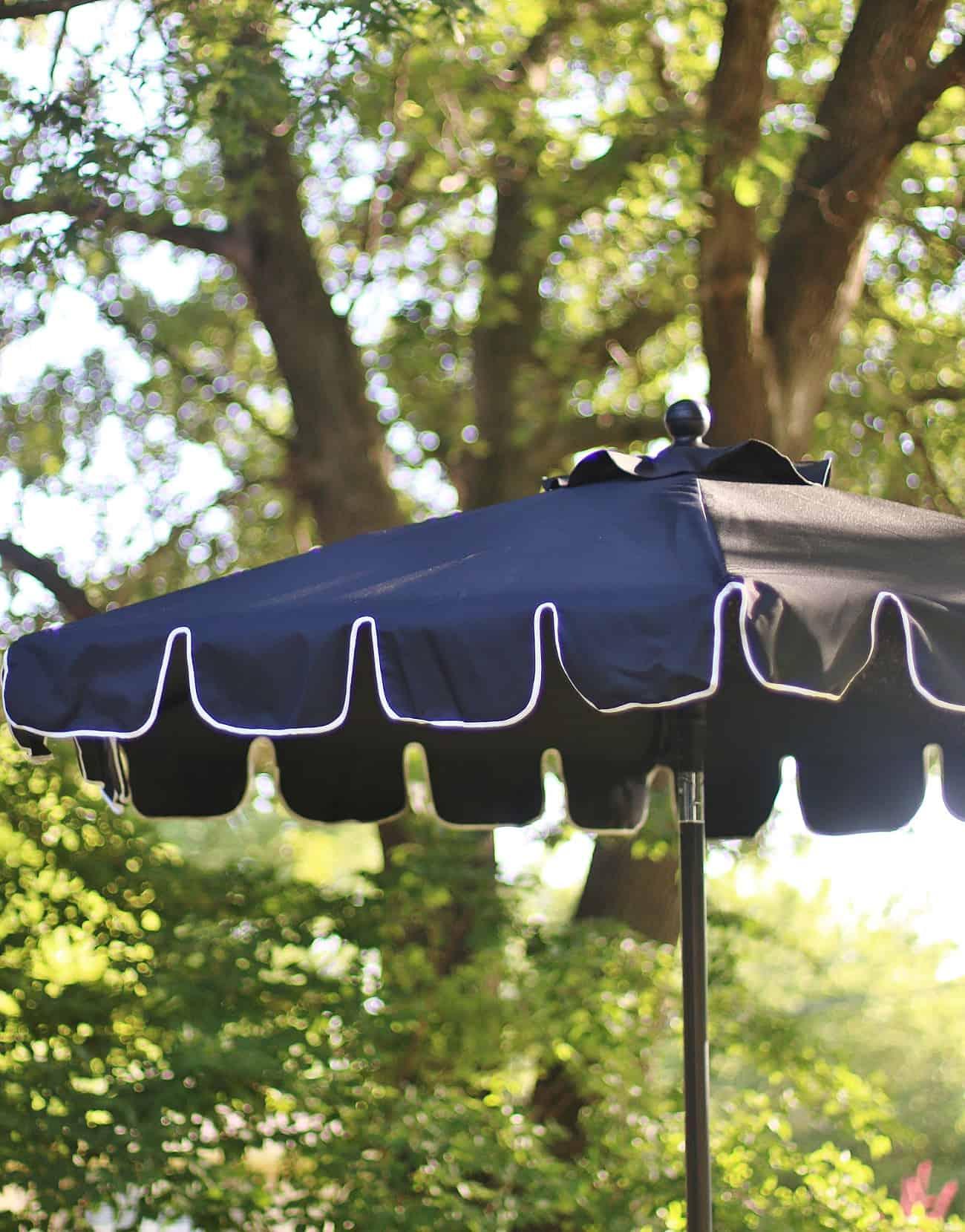 outdoor summer decorating ideas umbrella
