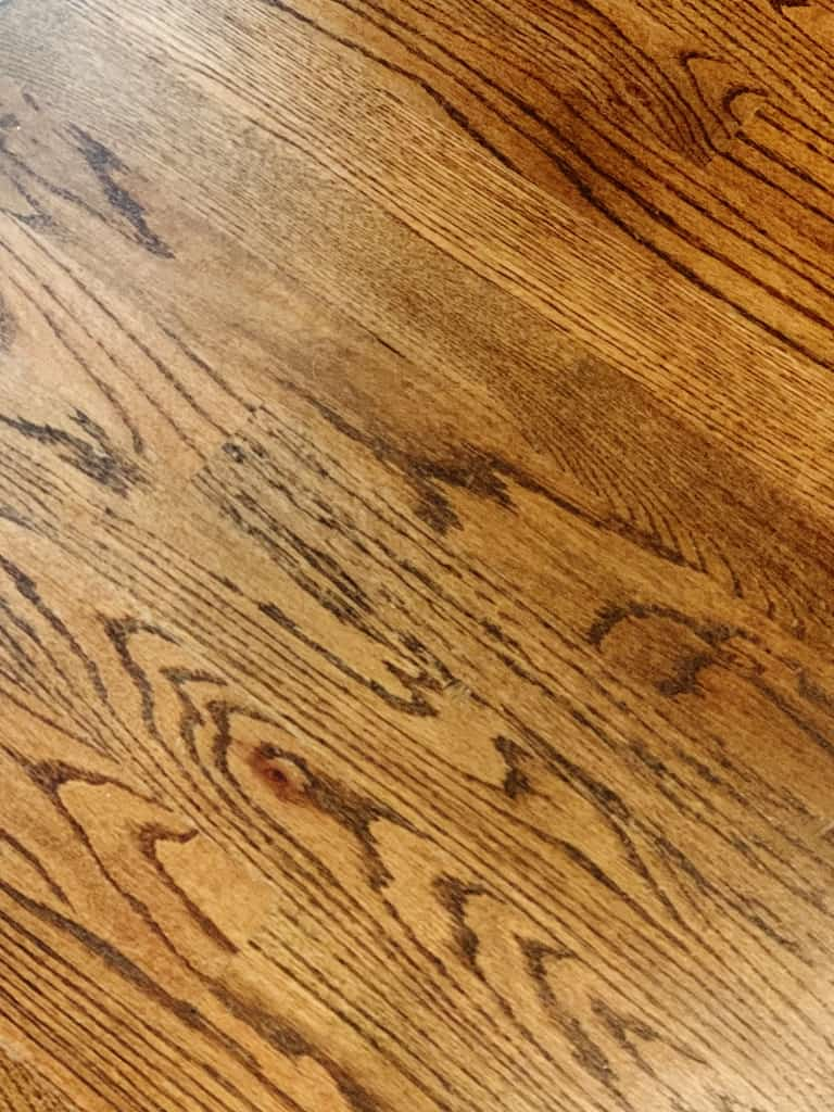 how to clean hardwood floors in an old house