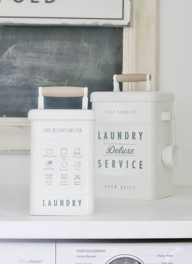 storage ideas for laundry room laundry containers