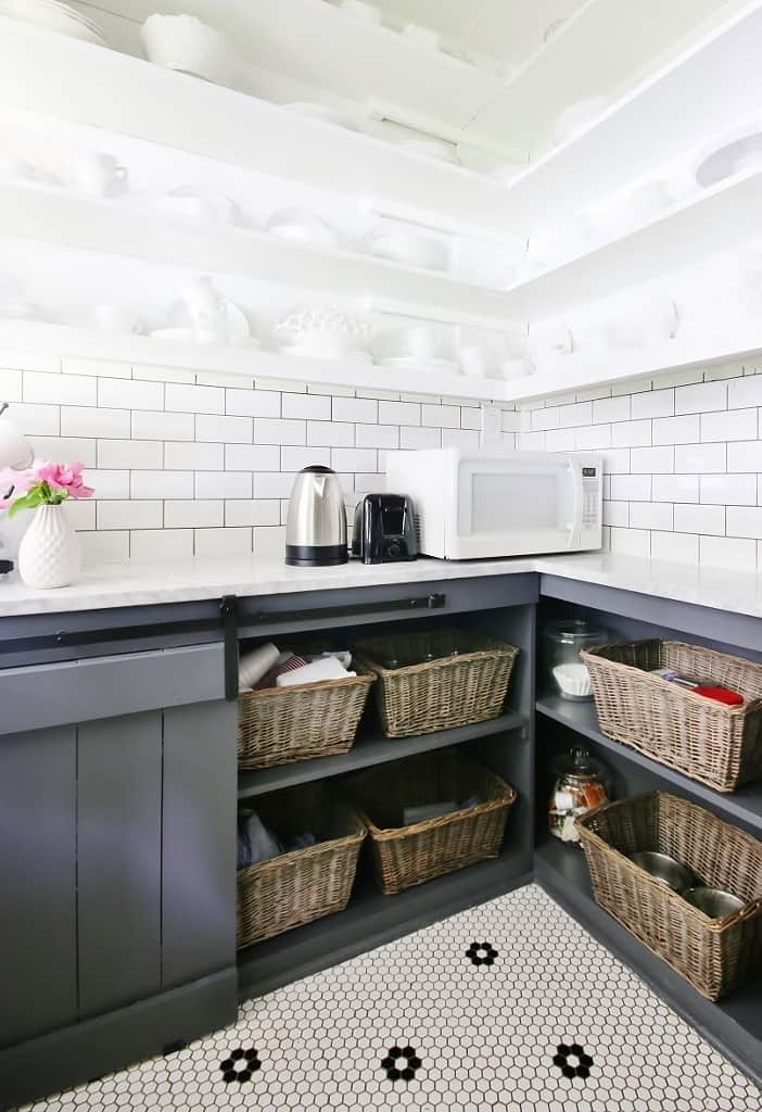 storage ideas for laundry room cabinets