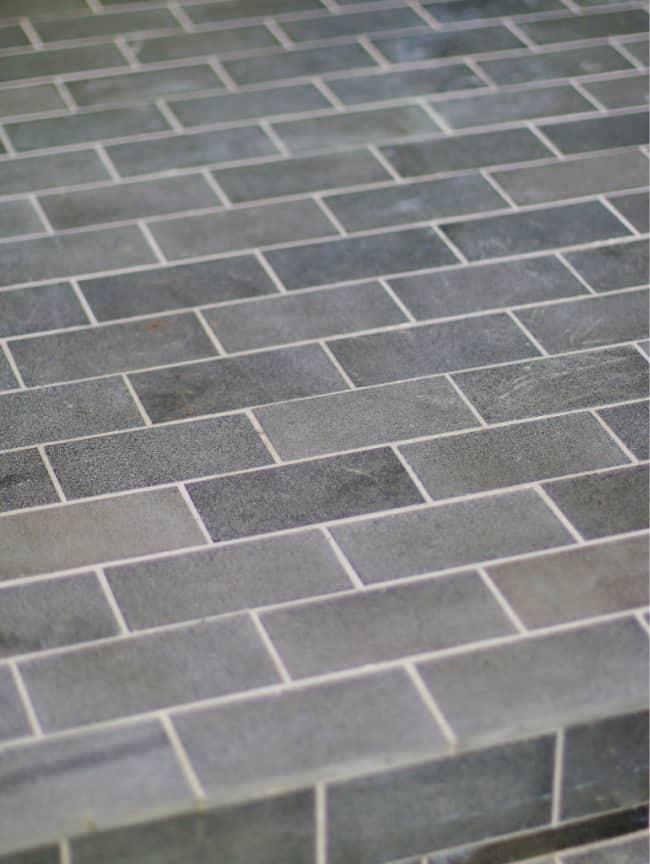 finished basalt tile