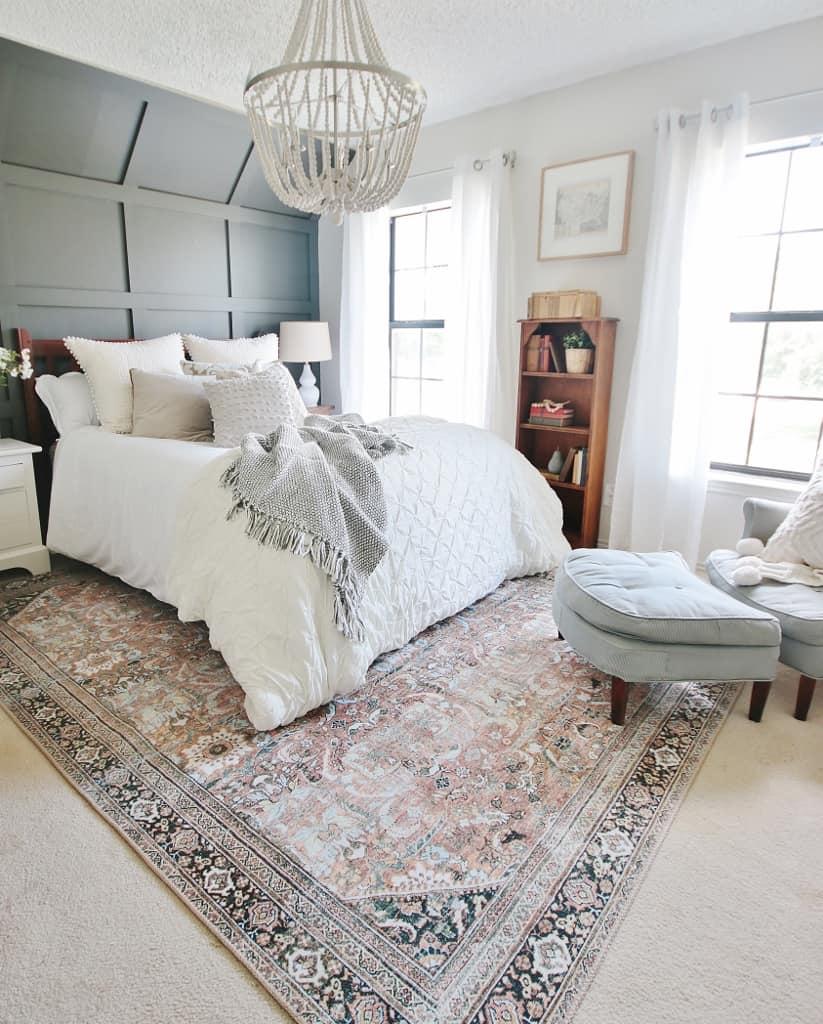fancy decorated bedroom